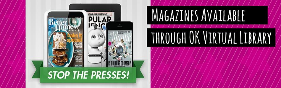 OK Virtual Library Now Has Magazines